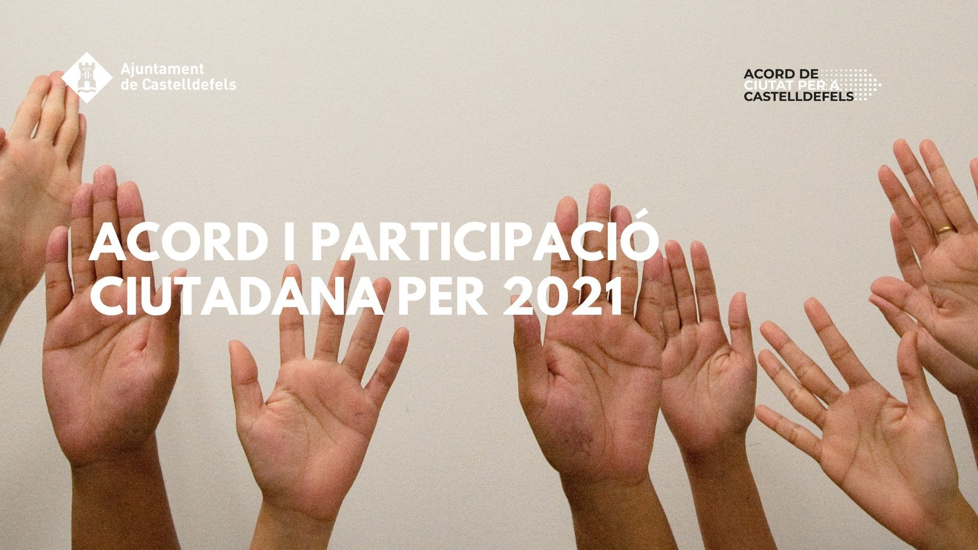 Acord I Participació: Reptes Per 2021